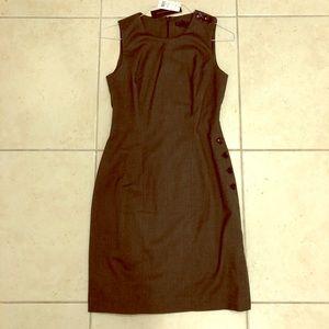 Hunter Green Banana Republic Sheath Dress - 2 /New